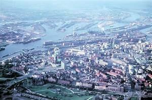 Parkhaus Innenstadt Hamburg : uralt luftaufnahme von hamburg innenstadt hafen 1963 scan vom kleinbilddia staedte ~ Orissabook.com Haus und Dekorationen