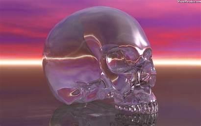 Wallpapers Doodshoofd Crystal Skull Visualparadox Totenkopf Skulls