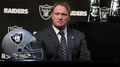 Oakland Raiders head coach Jon Gruden: 'We don't have to ...