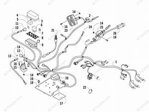 Arctic Cat Atv 2007 Oem Parts Diagram For Wiring Harness