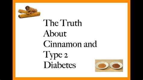 cinnamon  diabetes normal blood glucose levels