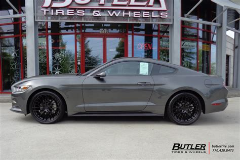 Ford Mustang With 20in Tsw Max Wheels Exclusively From