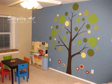 Tree Mural For Kids' Room