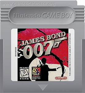 James Bond 007 Nintendo Game Boy Games Database