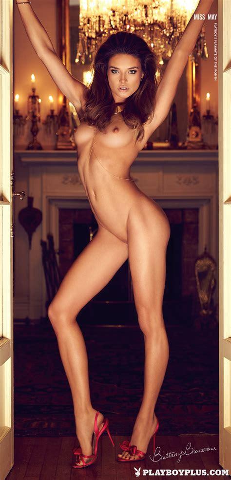 Playboy Playmate Brittany Brousseau Posing Naked Photos