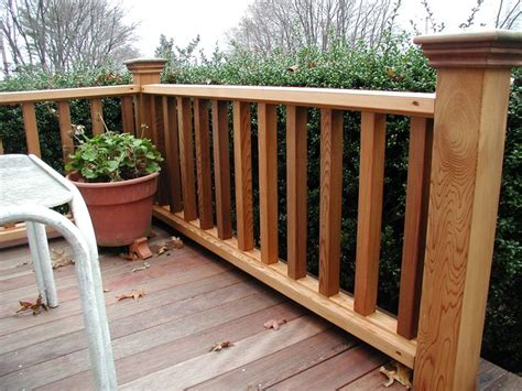 Porch Railing Wood - pin by mountain laurel handrails on deck railing ideas