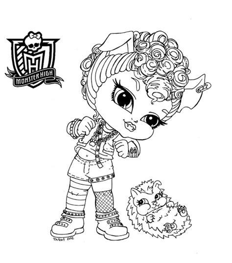 Le Avec Détecteur De Présence by Dibujos Y Plantillas Para Imprimir Dibujos Monster High