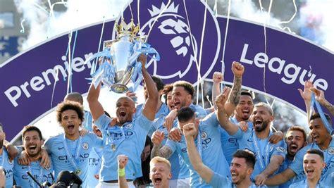 Manchester City crowned Premier League 2018/19 Champions