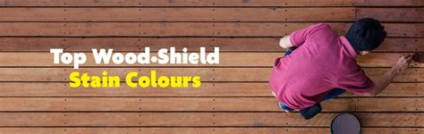 top wood shield stain colours  update  deck home