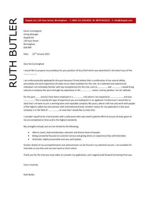 Cover Letter For Chef Application by Pic Sous Chef Cover Letter Application Italian Commis