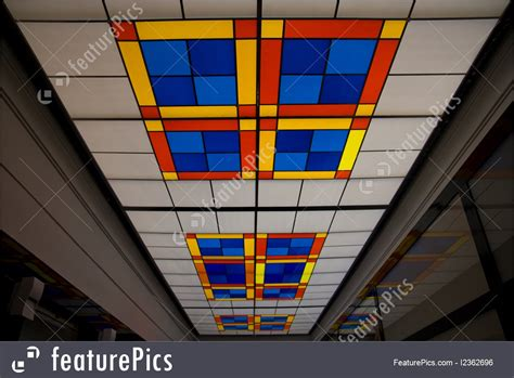 Stained Glass Ceiling Photo