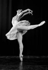 ballerina, ballet, black and white, dance, dancing, people ...