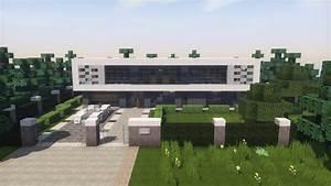 Minecraft Modern House : Minecraft