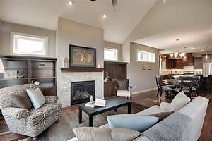 Sherwin Williams Agreeable Gray Living Room Transitional