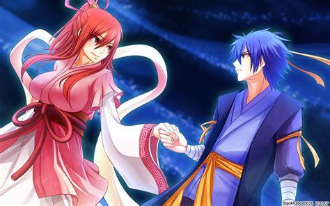 erza scarlet  jellal fernandes fairy tail anime hd