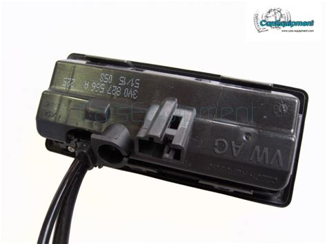 oem highline rvc rear view camera kit  skoda superb   guide lines   rear