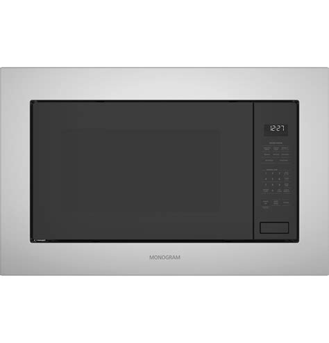 monogram  cu ft built  microwave oven zebslss ge appliances