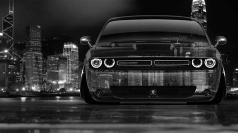 dodge challenger muscle front crystal city car  el tony