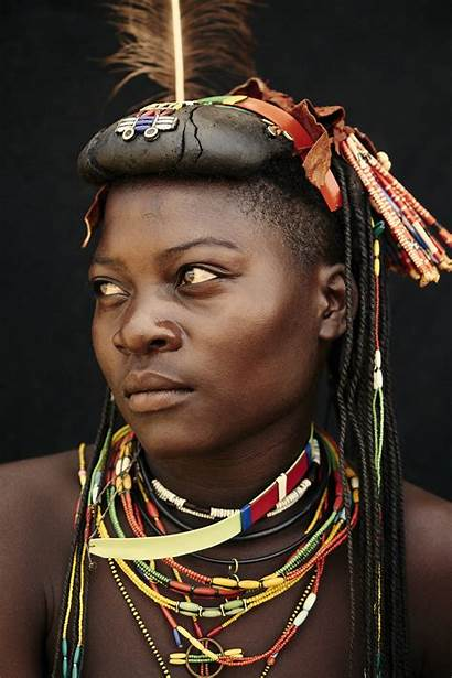 Angola Tribes Tribe African Mucawana Adam Indigenous