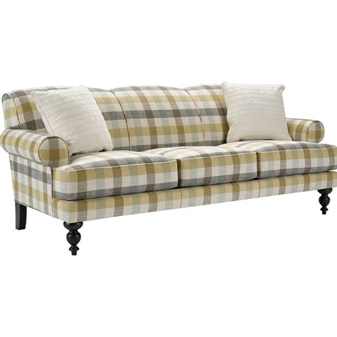 Broyhill Furniture Frankie Sofa With Turned Front Legs