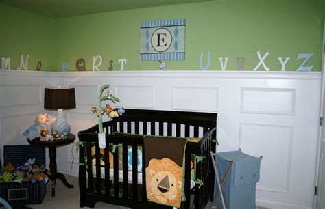 Baby Boy Nursery With Chair Rail  15 Ideas For Your Baby