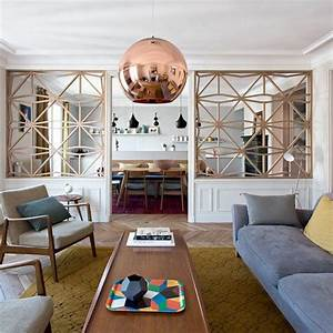 Deco Salon Contemporain : d co salon un salon contemporain aux touches scandinaves leading ~ Melissatoandfro.com Idées de Décoration