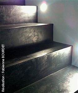 Decoration Escalier Interieur Peinture : projet d coration d 39 int rieur sols et escaliers b ton cir ~ Dailycaller-alerts.com Idées de Décoration
