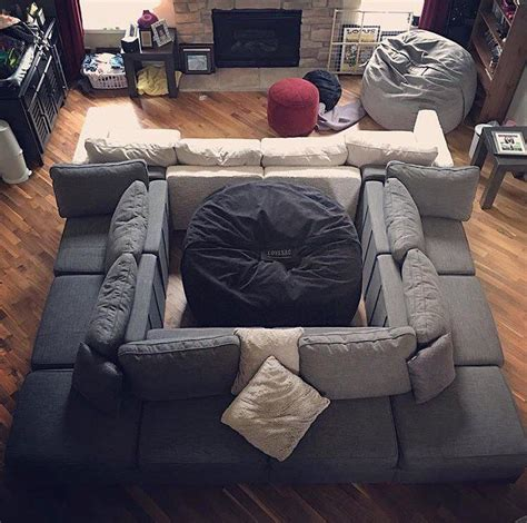 Used Lovesac Sactional this was serious not to repost lovesac superfan