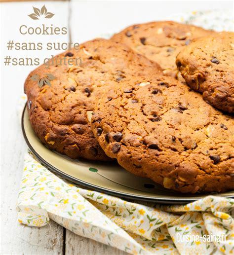 recettes de cuisine sans sel maxi cookies sans sucre et sans gluten cuisine bio