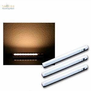 Led Lichtleiste Batteriebetrieben : 3er set led lichtleiste warmwei pir bewegungsmelder leiste batteriebetrieben ebay ~ Whattoseeinmadrid.com Haus und Dekorationen