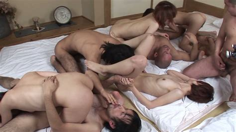 Dirty Asian Girlies Have Nasty Orgy Fuck Fest With Hungry