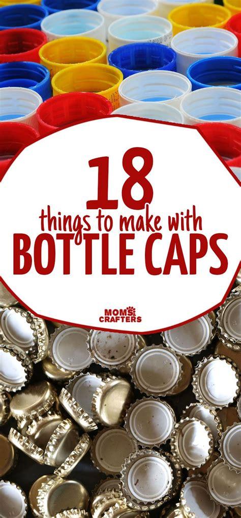 beautiful bottle cap crafts moms