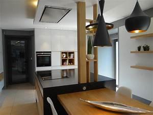 Hotte Pour Ilot Central : quelle hotte pour quelle cuisine moving tahiti ~ Melissatoandfro.com Idées de Décoration