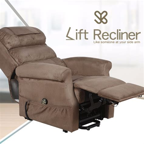 Recliner Chair Bed by Electric Adjustable Lift Sofa Leisure Home Reclining Bed