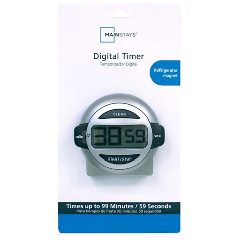 kitchen timer walmart acurite digital timer silver kitchen dining walmart