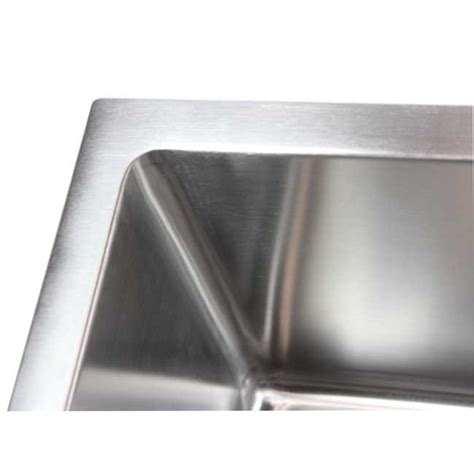 ariel 36 inch stainless steel undermount single bowl