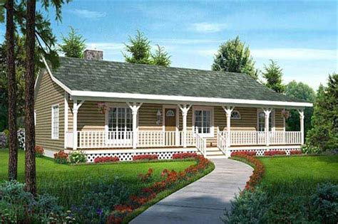 country ranch house plans home design