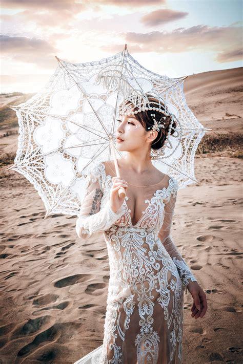 Wallpaper : umbrella, Asian, model, women outdoors, see through dress 1365x2048 ...