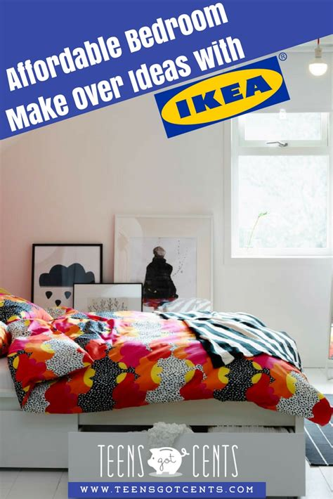 teen bedroom makeover ideas  ikea teensgotcents