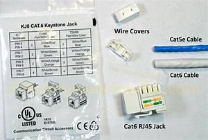Cat6 Keystone Jack Wiring Diagram