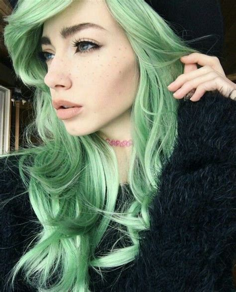 Hair Colors For With Green by 1000 Ideas About Hair Color On Hair