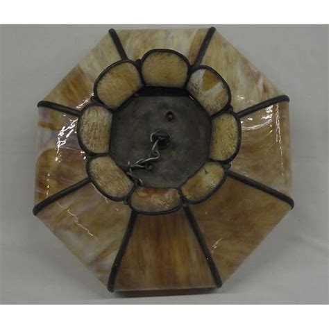 100 stained glass shade antique metal floral l