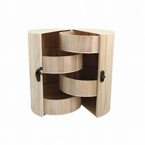 Boite à Thé Bois : boite bois ronde maison pratic boutique pour vos loisirs creatifs et votre deco ~ Teatrodelosmanantiales.com Idées de Décoration
