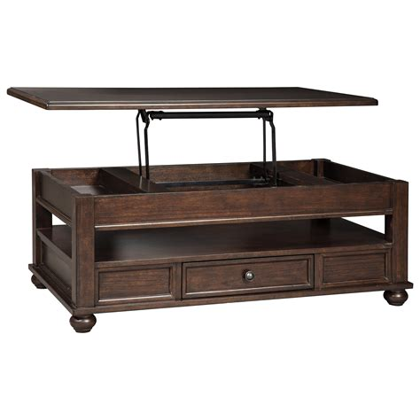 signature design by coffee table signature design by barilanni t934 9 lift top
