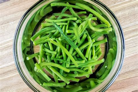blanching green beans green bean orange fennel salad with pecans goat cheese recipe
