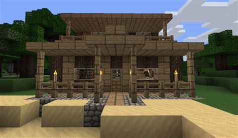 small house   beach minecraft map