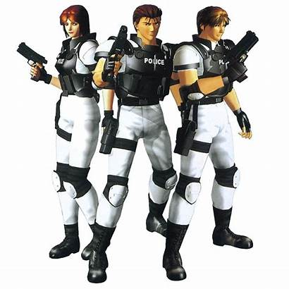 Janet Virtua Cop Fighter Characters Megamix Fighters