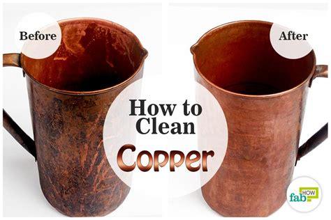 clean copper  restore  shine fab