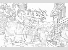Assassin's Creed The Official Coloring Book Book by
