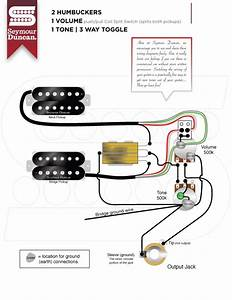 Help  Wiring   2 Hum  1 Volume  Push  Pull  Series Parallel  1 Tone And 3 Way Toggle